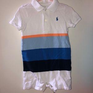 Ralph Lauren shirt and short onesie